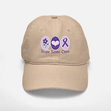 Purple Ribbon Alzheimer's Baseball Baseball Cap