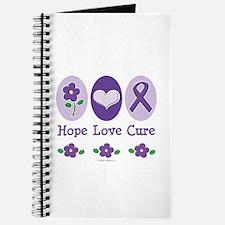Purple Ribbon Alzheimer's Journal
