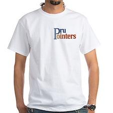 White Pru Pointers Premium T-Shirt