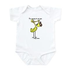 Stork Visit Infant Bodysuit