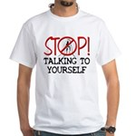 Stop Praying Tagless T-Shirt (W)