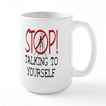 Stop Praying Large 15oz Mug