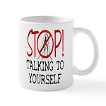 Stop Praying Small 11oz Mug