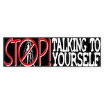 Stop Praying Bumper Sticker