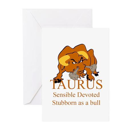Taurus Greeting Cards (Pk of 10)