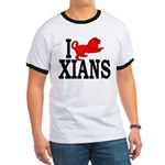 I Roman Lion Xians Ringer Tee Shirt