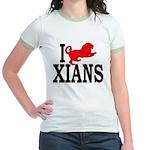 I Roman Lion Xians Jr Ringer T-Shirt