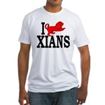 I Roman Lion Xians Fitted Tee Shirt