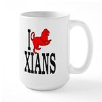 I Roman Lion Xians Large 15oz Mug