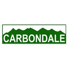CARBONDALE Bumper Bumper Sticker