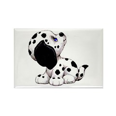 Dalmation Puppy Rectangle Magnet (100 pack)