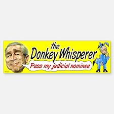Donkey Whisperer Bumper Bumper Bumper Sticker