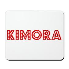 Retro Kimora (Red) Mousepad