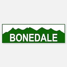BONEDALE Bumper Car Car Sticker