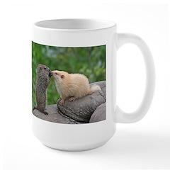 Groundhog Siblings Mug
