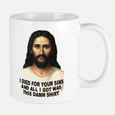 Died For Damn Sins Small 11oz Mug