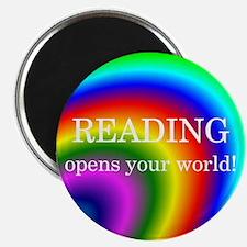 Reading World Magnet