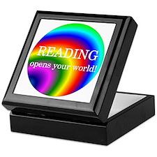 Reading World Keepsake Box
