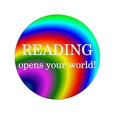 "Reading World 3.5"" Button"