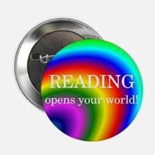 "Reading World 2.25"" Button (10 pack)"