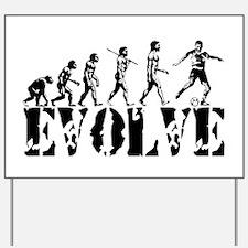Soccer Evolution Yard Sign