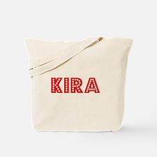 Retro Kira (Red) Tote Bag