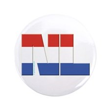 "Netherlands / Holland 3.5"" Button"