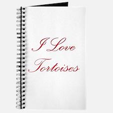 I Love Tortoises Journal