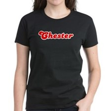 Retro Chester (Red) Tee