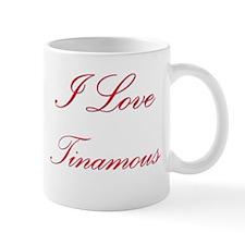 I Love Tinamous Mug
