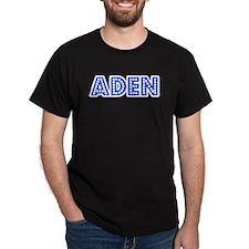 Retro Aden (Blue) T-Shirt