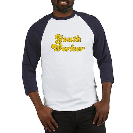 Retro Youth Worker (Gold) Baseball Jersey
