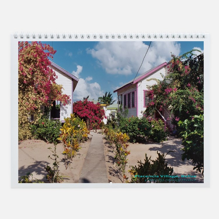 11 x 8.5 Belize Wall Calendar