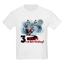 Motorcycle Racing 3rd Birthday T-Shirt