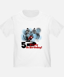 Motorcycle Racing 5th Birthday T