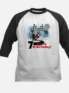 Motorcycle Racing 7th Birthday Tee