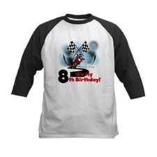 Motorcycle Racing 8th Birthday Tee