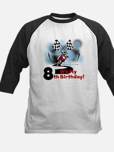 Motorcycle Racing 8th Birthday Tee