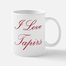 I Love Tapirs Mug