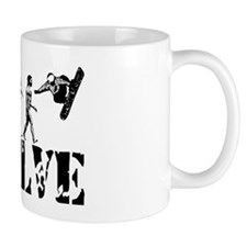Snowboarding Evolution Small Mug
