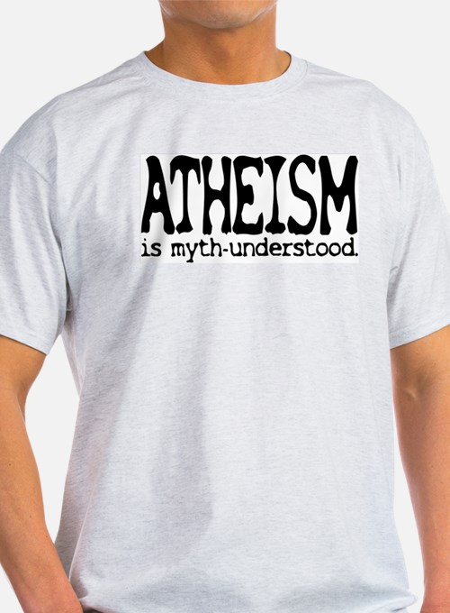 Atheism Myth-Under Tagless T-Shirt (G)