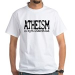 Atheism Myth-Under Tagless T-Shirt (W)