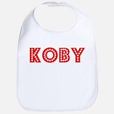 Retro Koby (Red) Bib