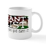 Militant Atheist Small 11oz Mug