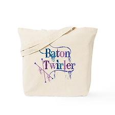 Baton Twirler Tote Bag