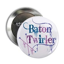 "Baton Twirler 2.25"" Button"