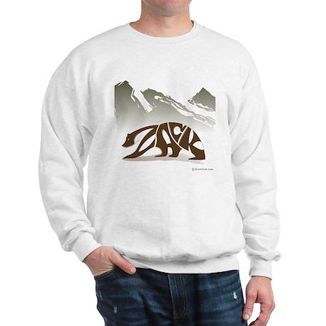 Zack (Brown Bear) Sweatshirt