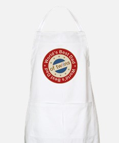 World's Best Dad of Twin Boy Girl BBQ Apron