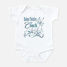 Baton Twirler Coach Infant Bodysuit