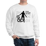 Think Outside Box Heavy Sweatshirt